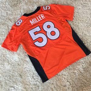Nike Denver Broncos Von Miller Jersey 58 Stitched